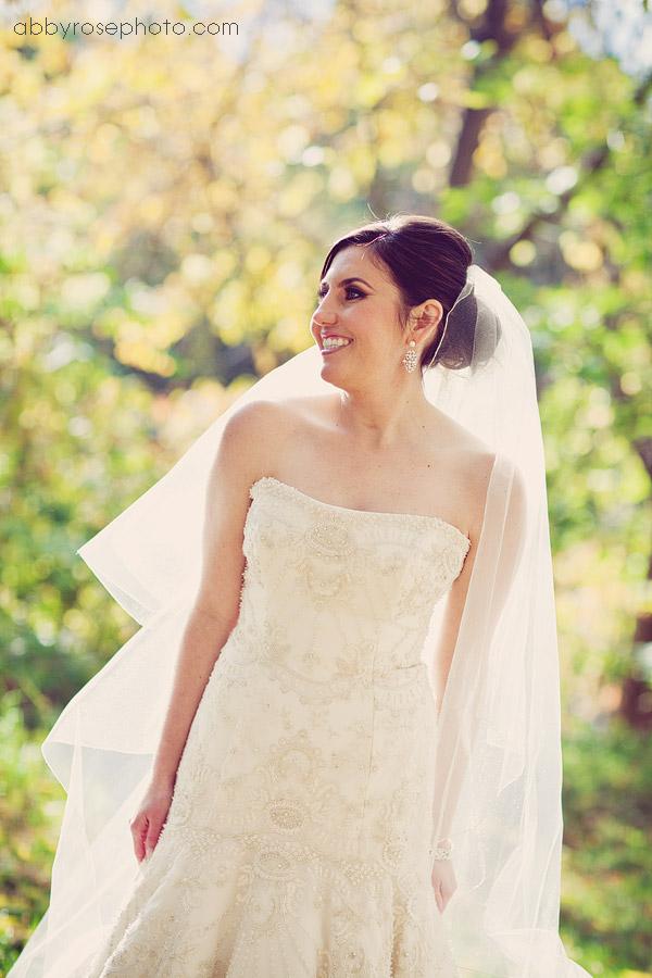 Looking fabulous in her Lazaro gown