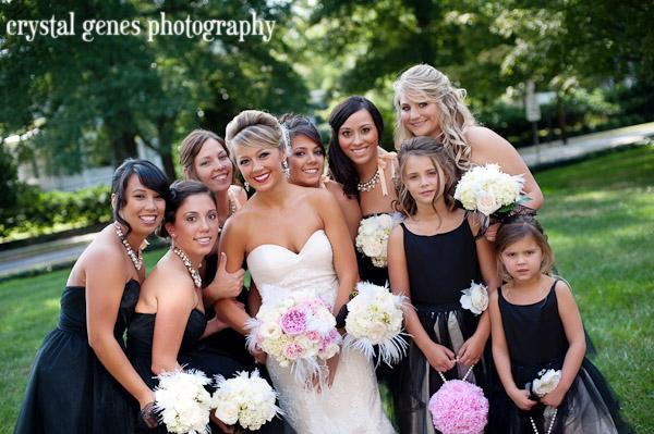 Southern-weddings-black-and-white-wedding