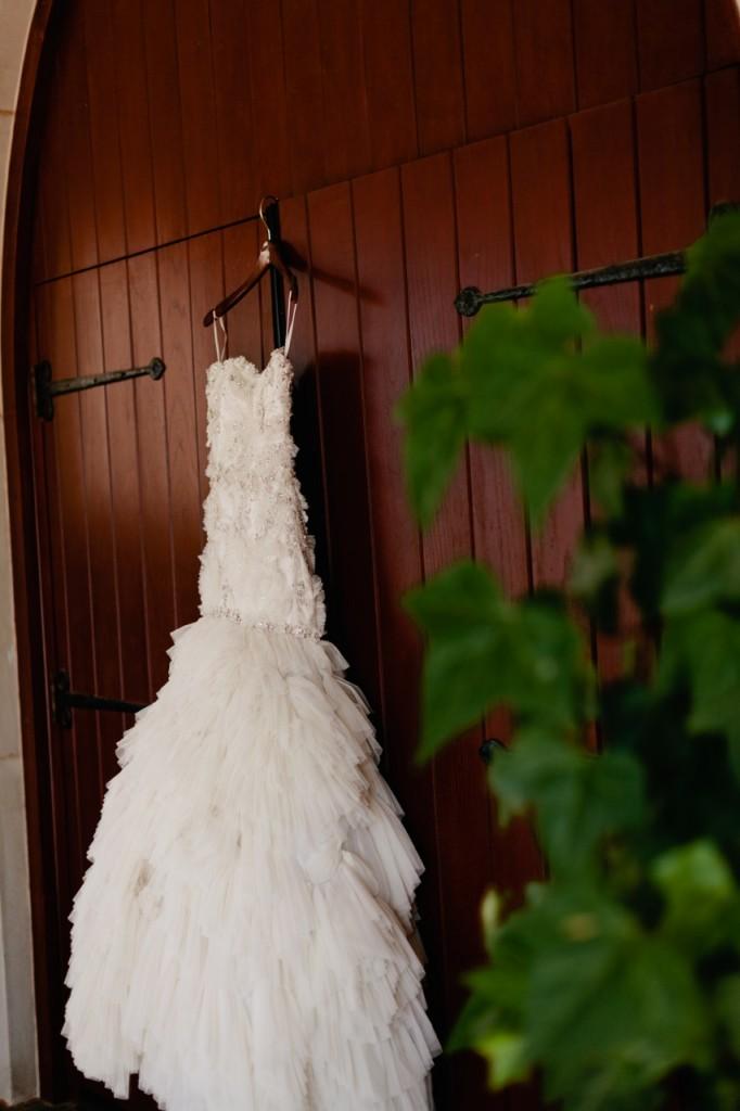 Lazaro Bridal style 3167