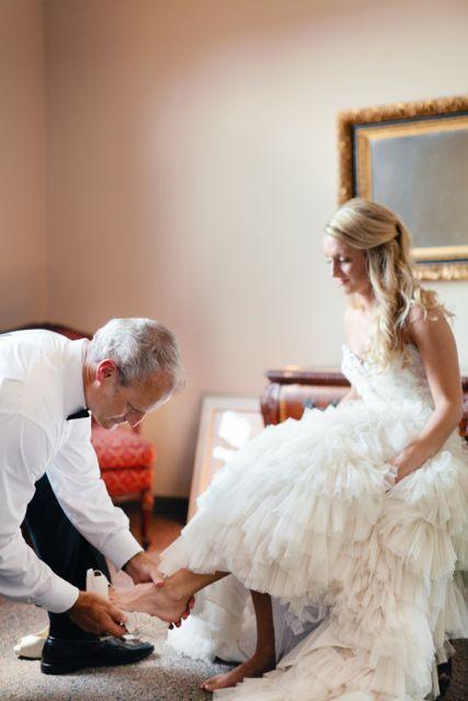 Lazaro Real Bride style 3167