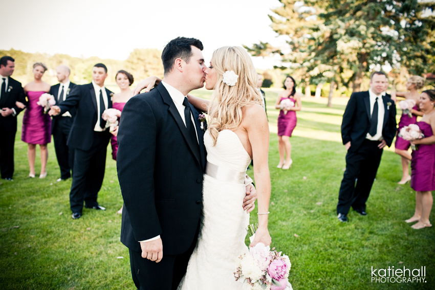Real Bride Frances and Real Bridesmaids