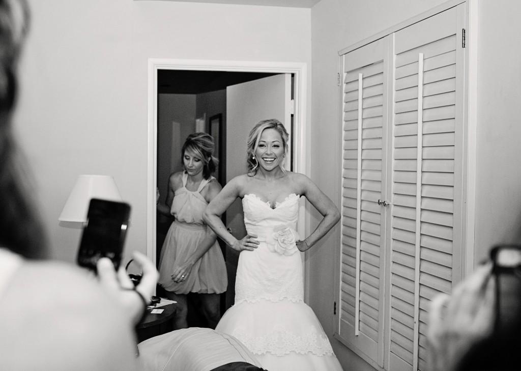 Tara Keely Bridal style 2056 Real Bride Sayoko