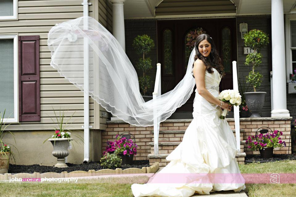 Jim Hjelm Real Bride Christine