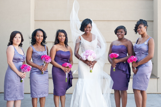 Lazaro Real Bride Fatimah and Bridesmaids