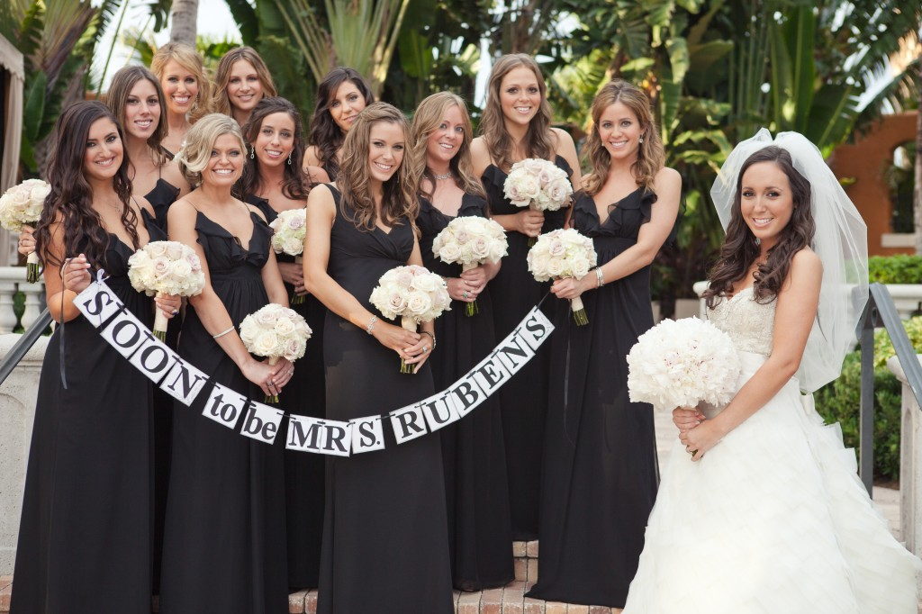 Lazaro Real Bride Lindsay and Occasions Real Bridesmaids