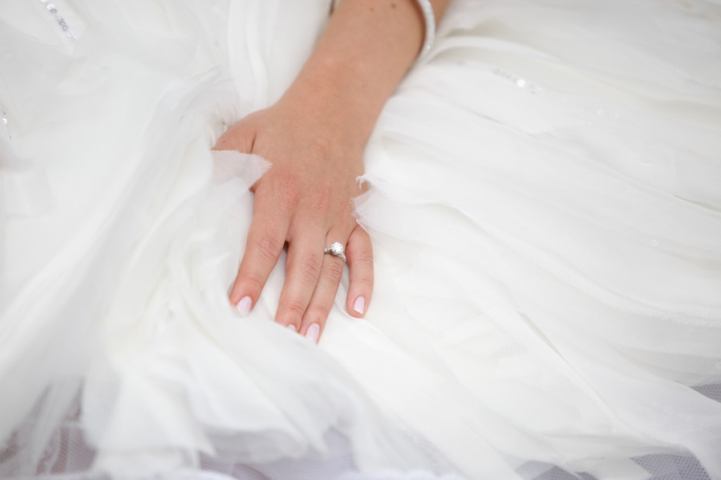 Lazaro Real Bride Ring