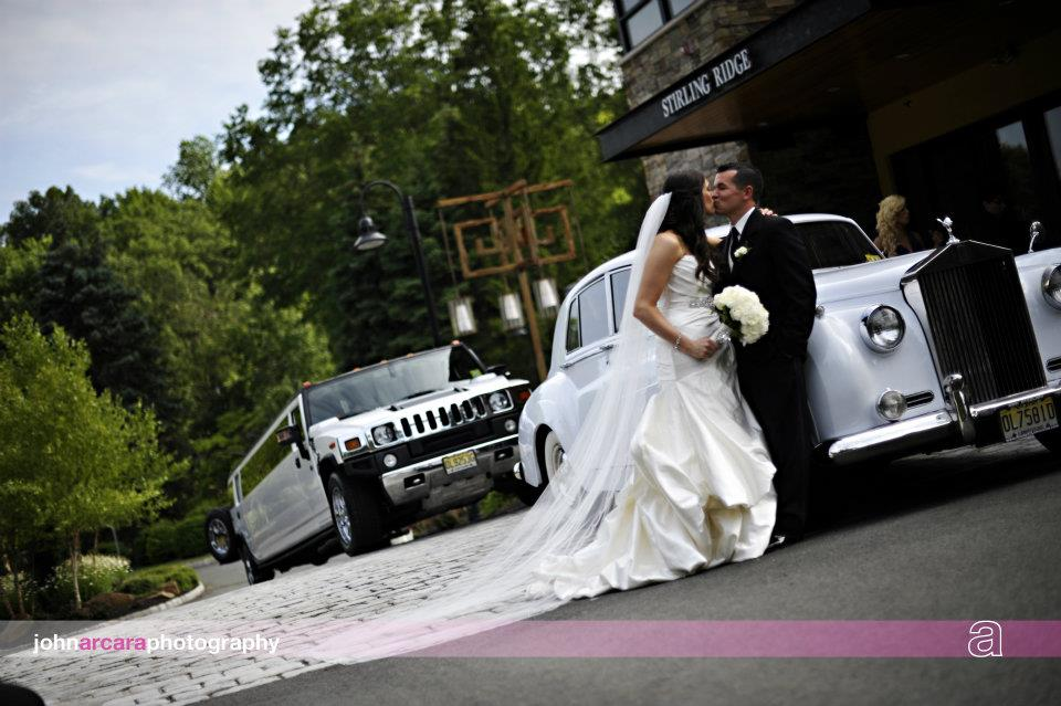 Real Bride Christine Jim Hjelm Style 8057