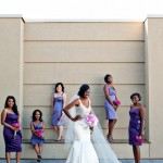 Real Bride Fatimah and Bridesmaids