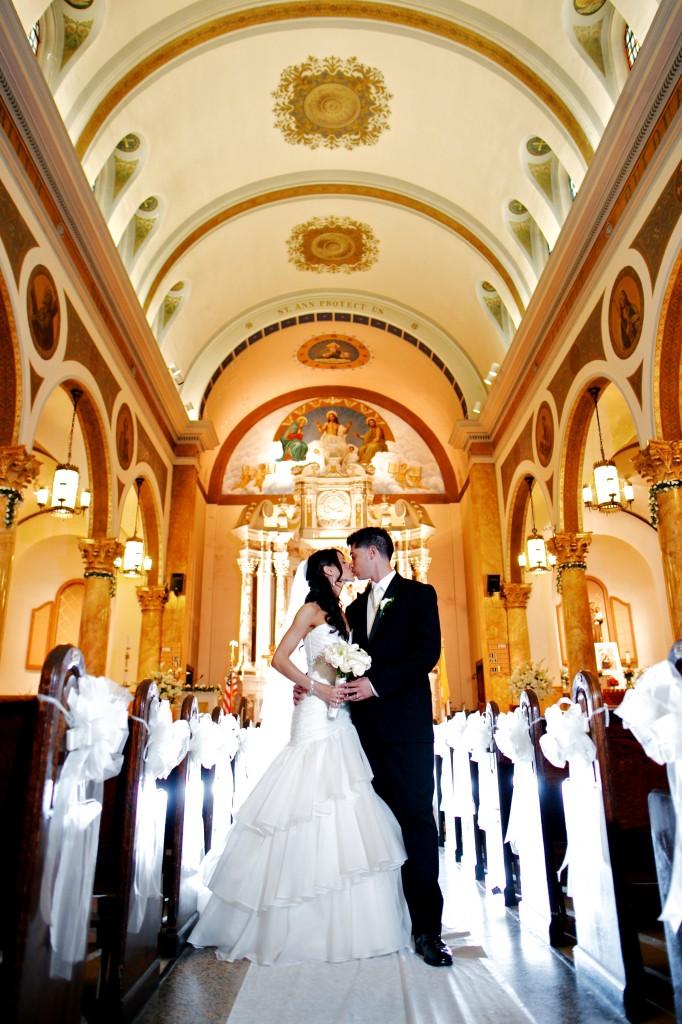 Real Bride Kristin Church