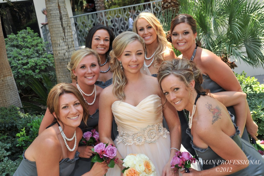 Real Bride Kristin and Bridesmaids