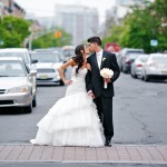 Real Bride Kristin in the Streets