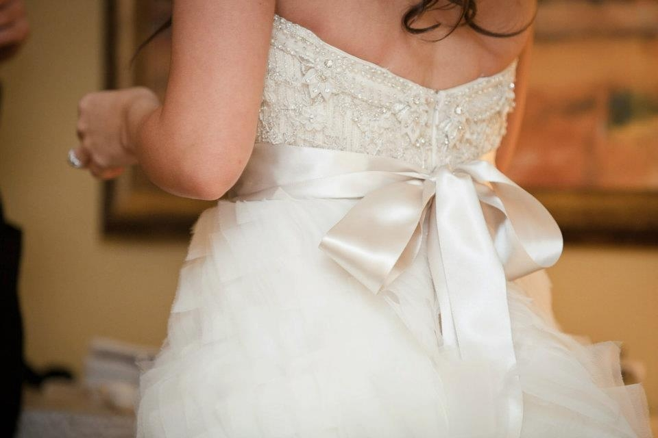 Real Bride Lindsay Lazaro Style 3063