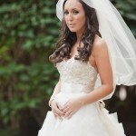 Real Bride Lindsay Potrait