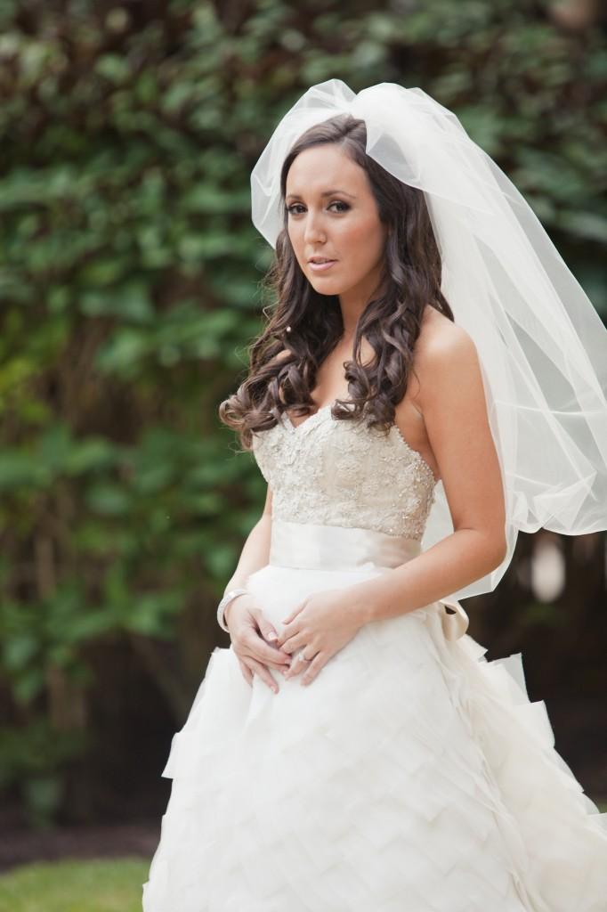 Real Bride Lindsay Potrait