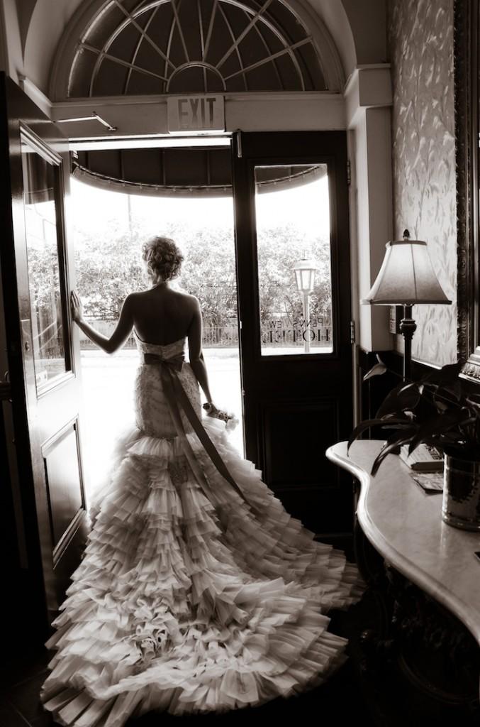 Ashley Lazaro Real Bride Style 3150