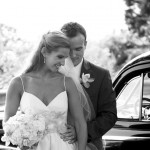 Jim Hjelm Blush Real Bride Whitney and Husband Micah
