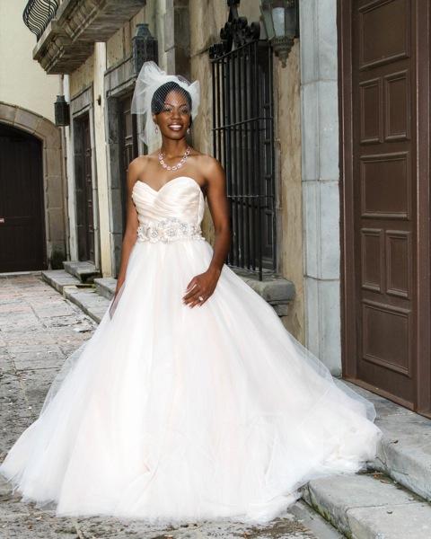 Lazaro Real Bride 3108
