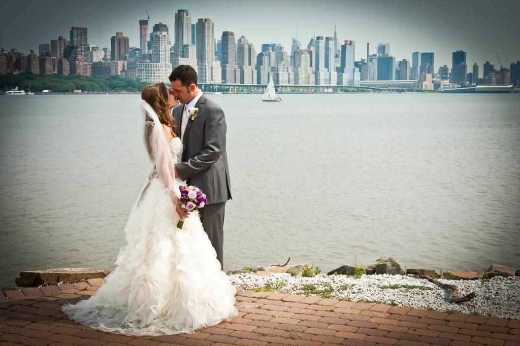 Lazaro Real Bride Elyse and Husband Michael