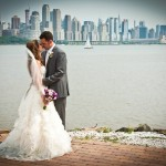 Lazaro Real Bride Elyse and Husband Michael