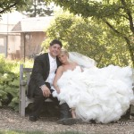 Lazaro Real Bride Kristin and Husband Joe
