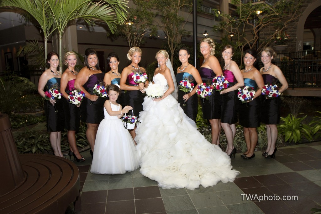 Lazaro Real Bride and Occasions Bridal Party