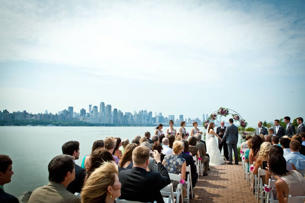 Lazaro Real Bride with View of NYC