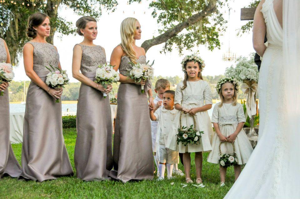 Noir By Lazaro Real Bridesmaids