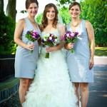 Real Bride Elyse with Maid of Honors