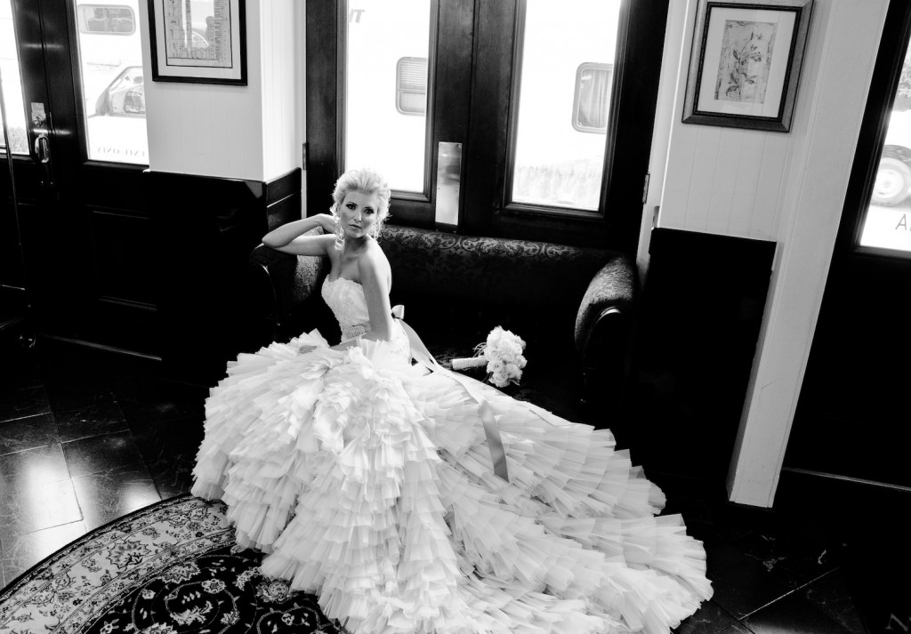 Real Bride Style 3150
