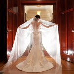Amy's veil and Tara Keely gown