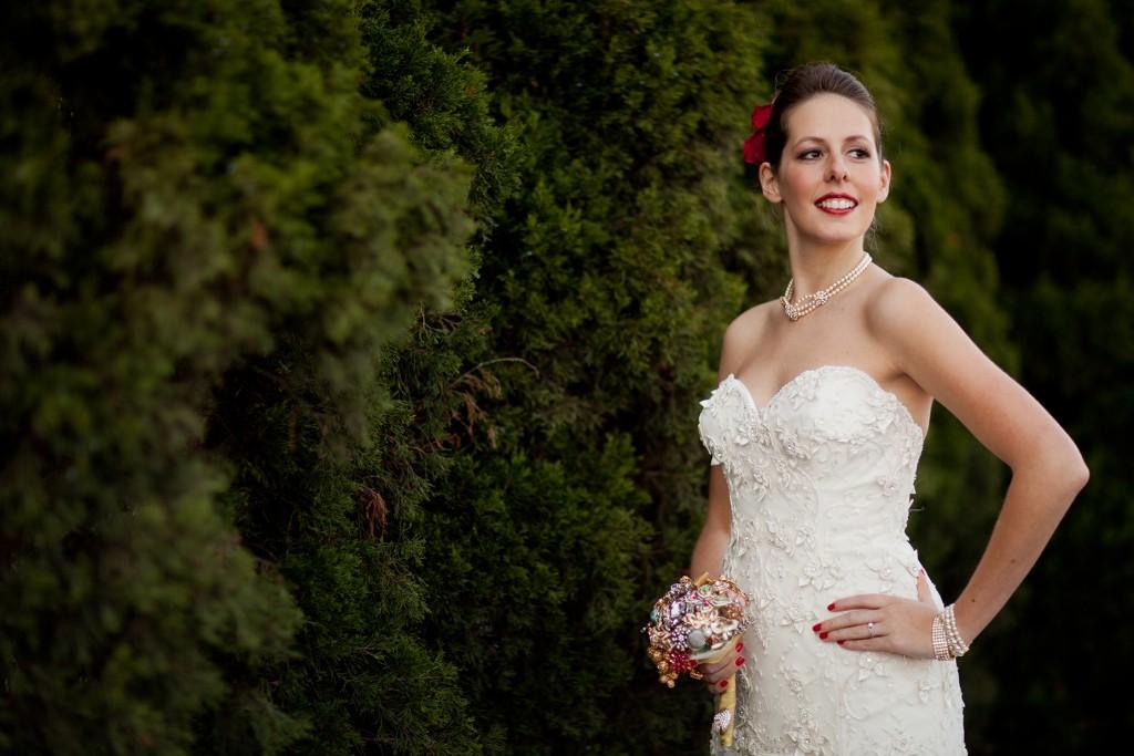 Lazaro Real Bride Amy Style 3002