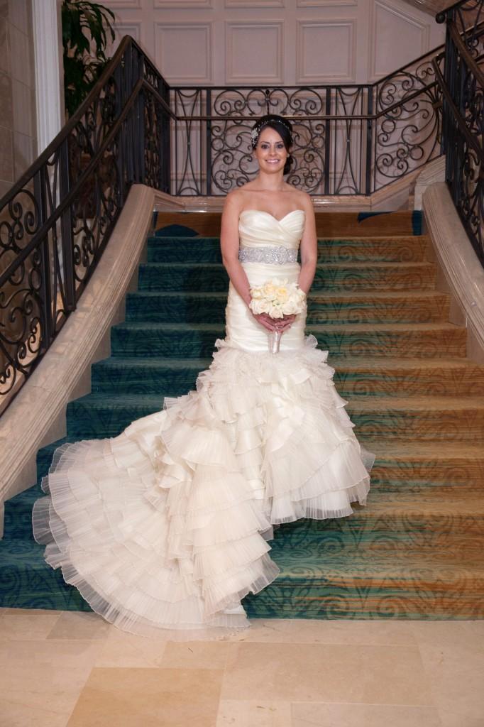 Lazaro Real Bride Denisse Style 3050
