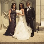 Real Bride Kristina in Jim Hjelm Style 8156