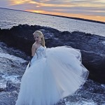 Real Bride Veronica in Lazaro Style 3152