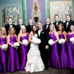Alvina Valenta and Jim Hjelm Occasions Real Bridal Party