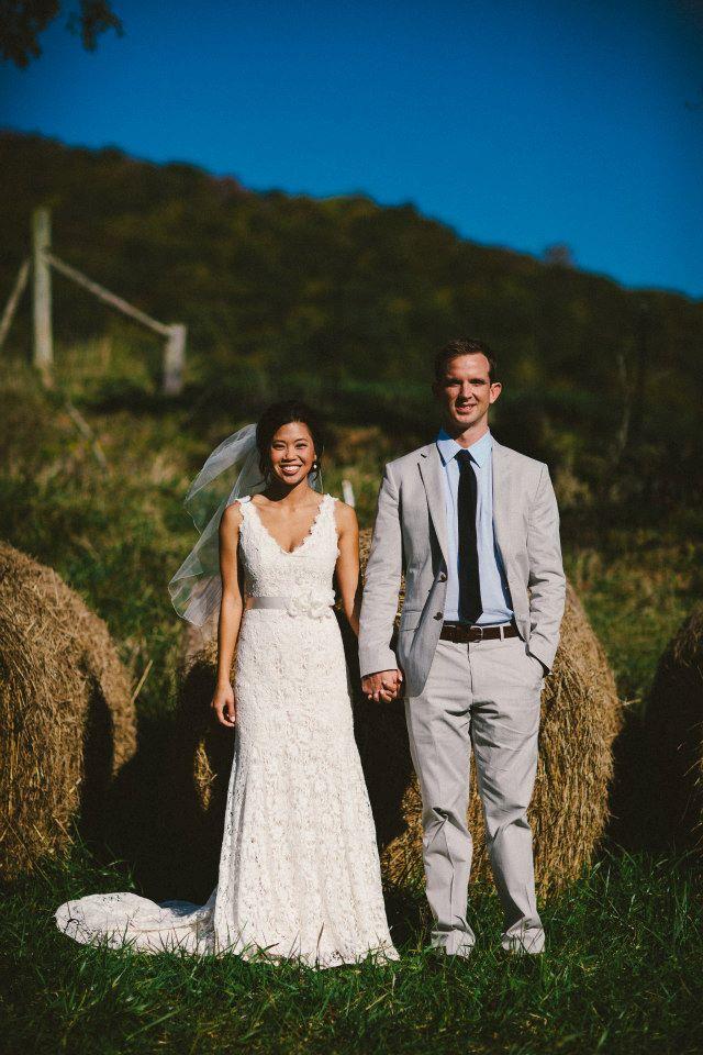 Jim Hjelm Blush Wedding Dress Style 1006 79