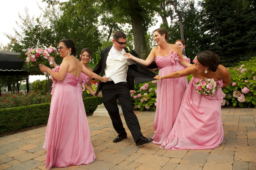 Real Bridesmaids Jim Hjelm Occasions Style 5226