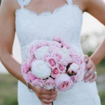 Alvina Real Bride with Peonies