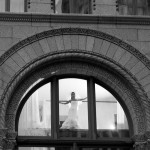 Alvina Valenta Real Bride Jordan through window