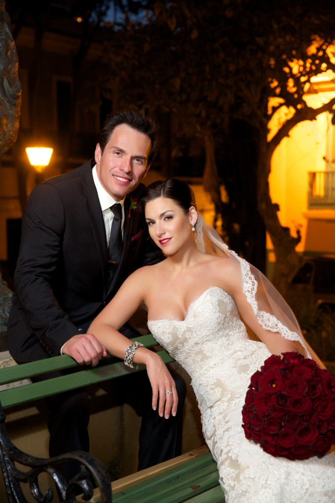 Alvina Valenta Real Bride and Husband Greg