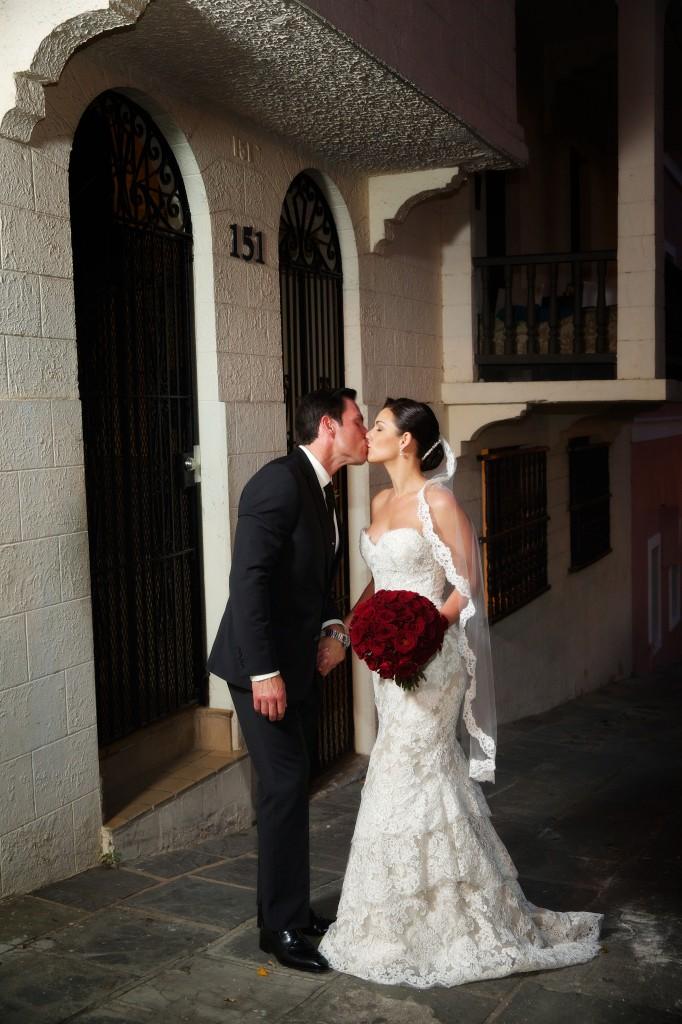 Real Bride Carissa and Husband Greg
