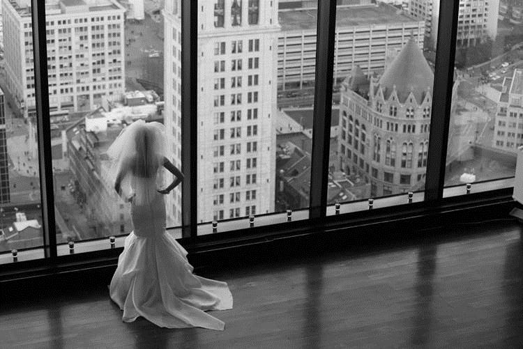 Real Bride Jordan with Buildings
