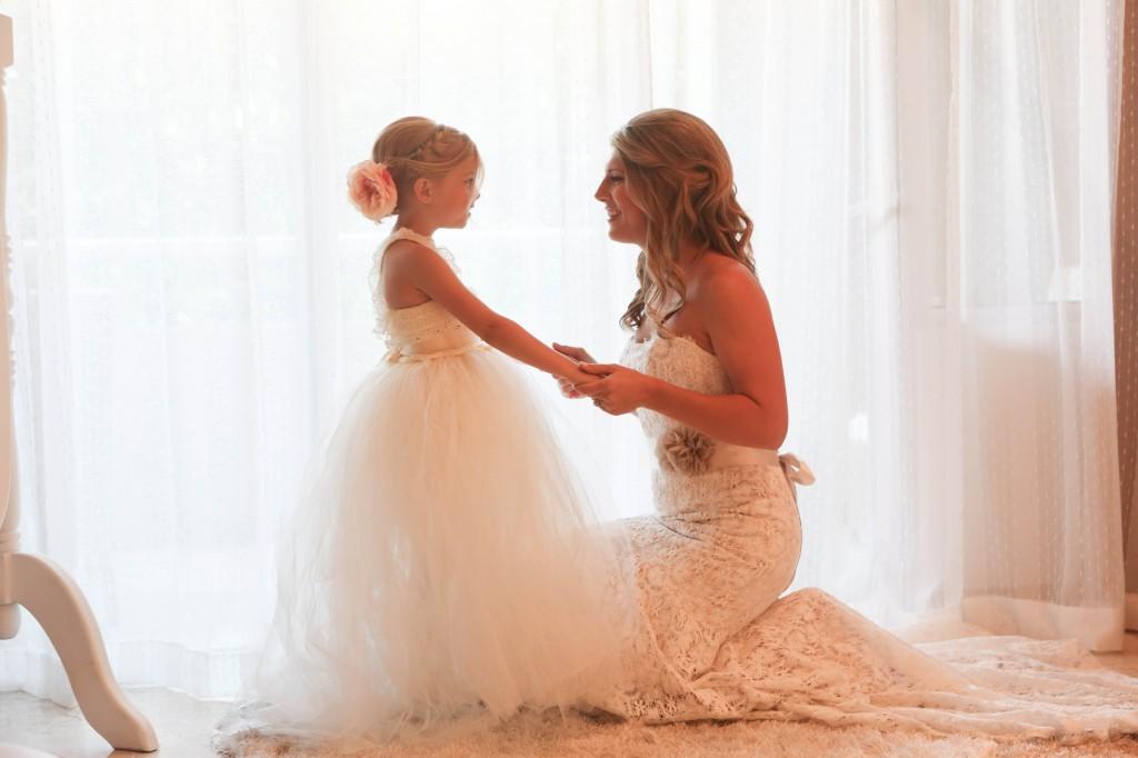 Pre-wedding moment
