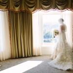Rachel's Lazaro gown