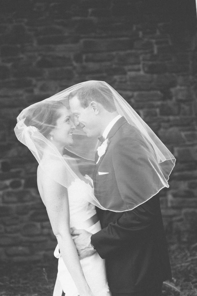 Molly & Terry share a veil